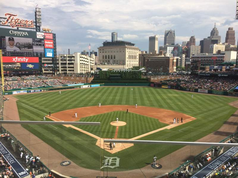 Seating view for Comerica Park Section 326 Row B Seat 10