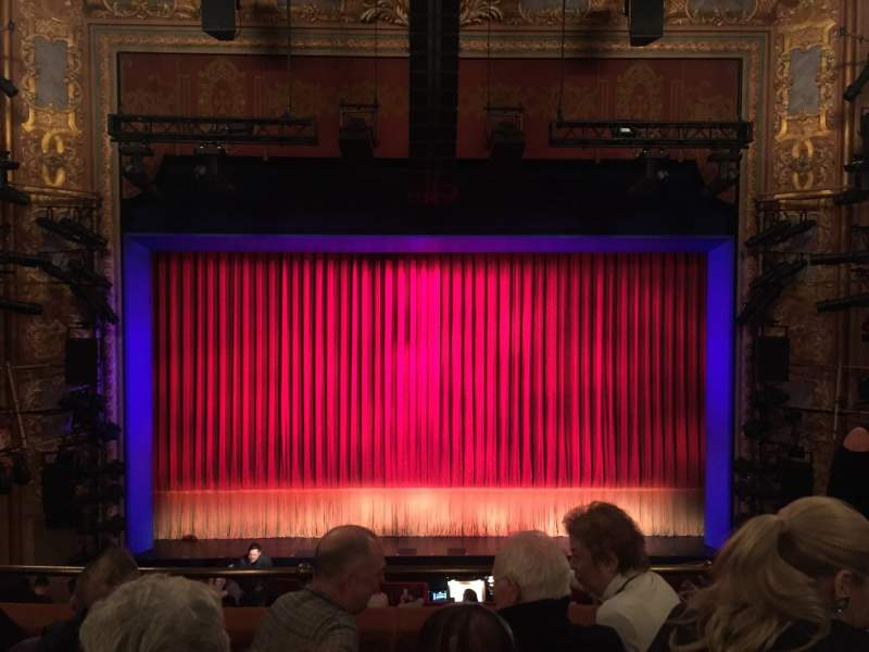 Seating view for Longacre Theatre Section Mezzanine Center Row D Seat 107
