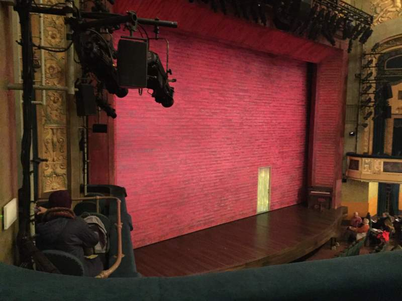 Seating view for Shubert Theatre Section Mezzanine L Row B Seat 25