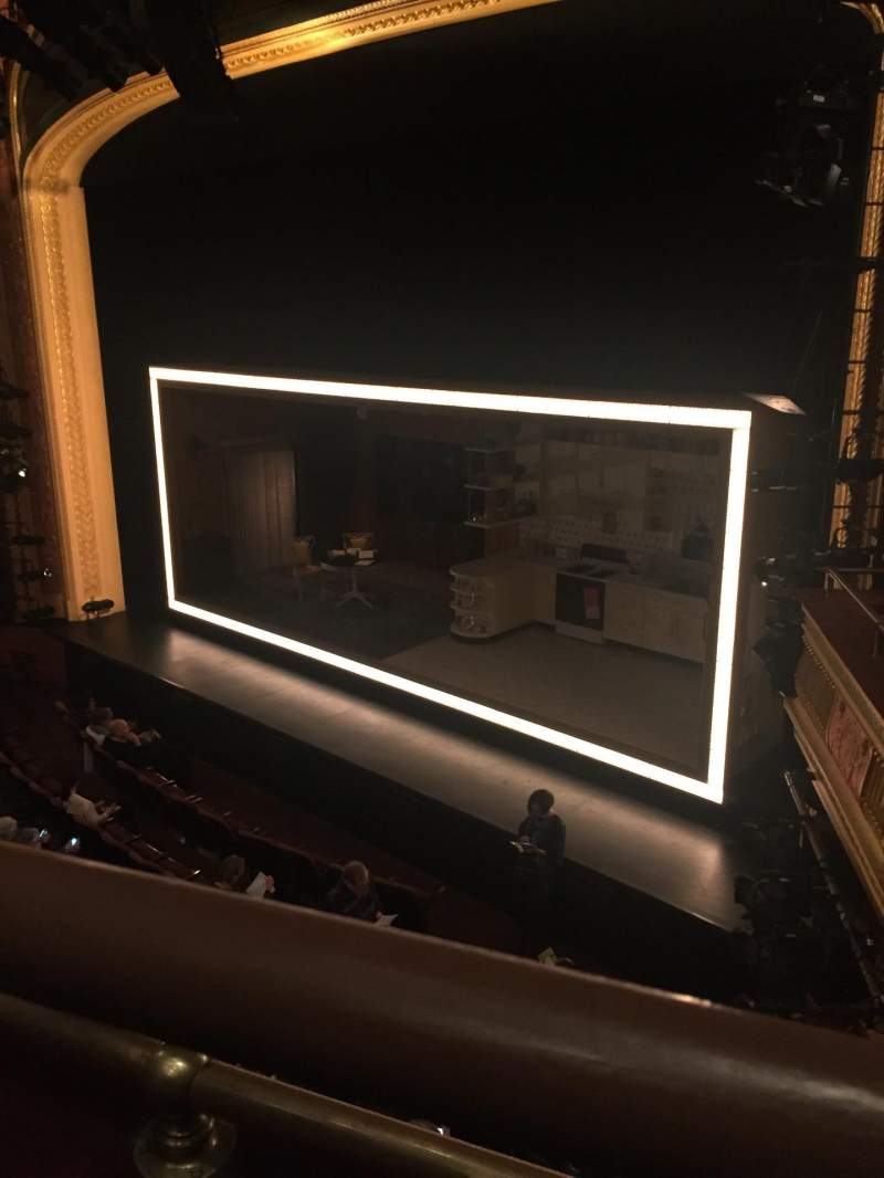 Seating view for American Airlines Theatre Section Front Mezzanine Row A Seat 103
