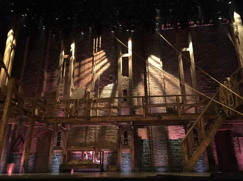 Seating view for Richard Rodgers Theatre Section Orchestra Center Row A Seat 105