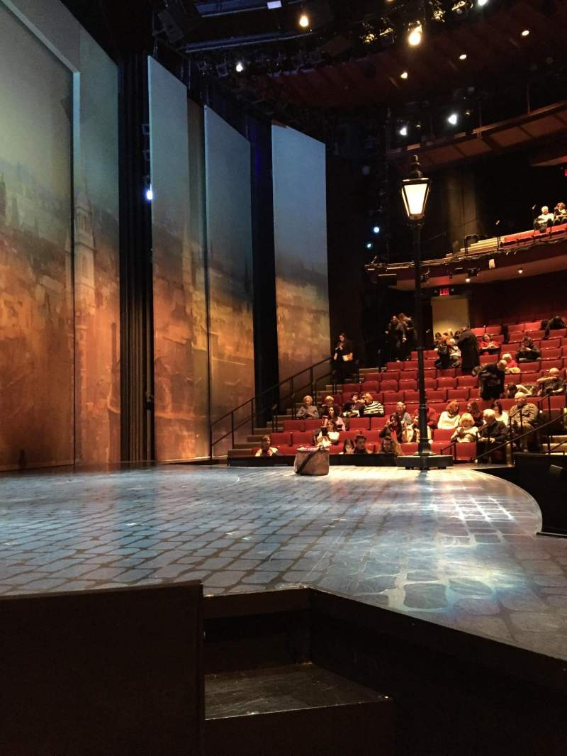 Seating view for Vivian Beaumont Theater Section Orchestra L Row C Seat 101