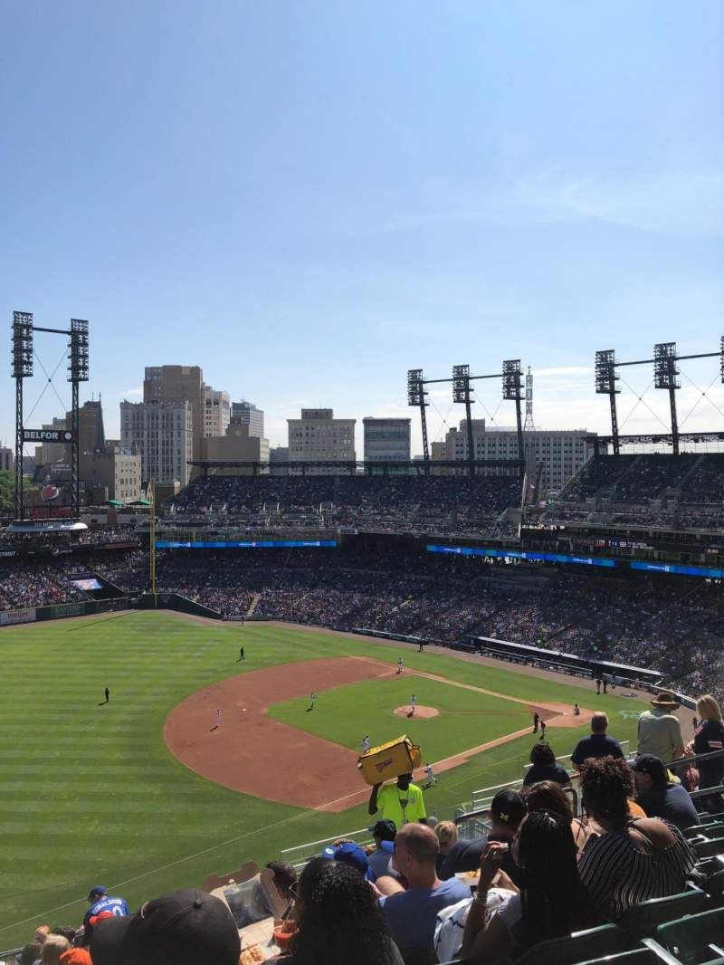 Seating view for Comerica Park Section 338 Row 14 Seat 14