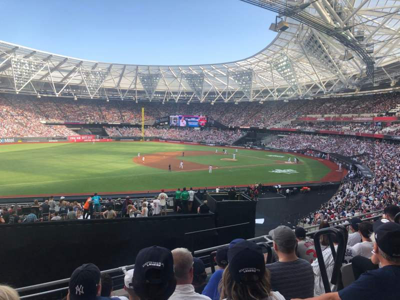 Seating view for London Stadium Section 255 Row 36 Seat 719
