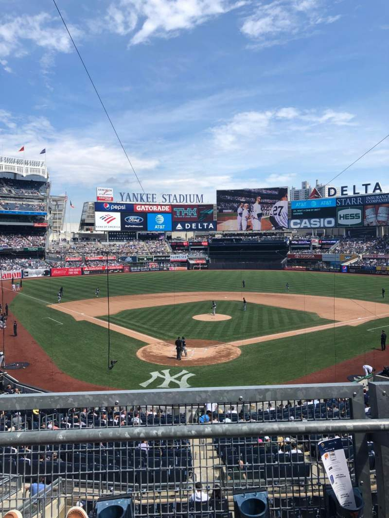 Seating view for Yankee Stadium Section 220A Row 2 Seat 8