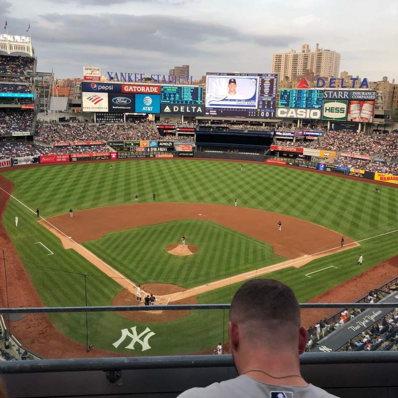 Seating view for Yankee Stadium Section 320A Row 2 Seat 11