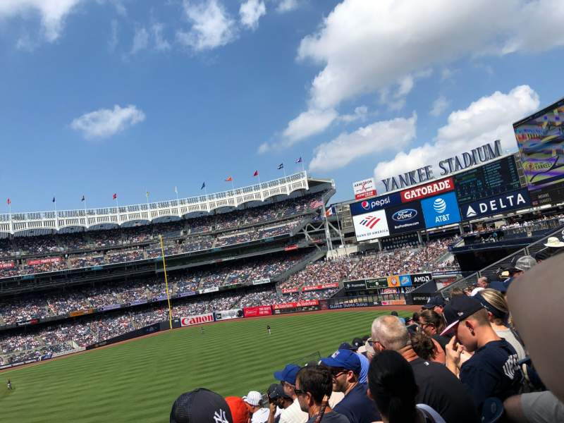 Seating view for Yankee Stadium Section 206 Row 7 Seat 15