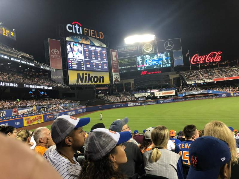 Seating view for Citi Field Section 128 Row 19 Seat 14