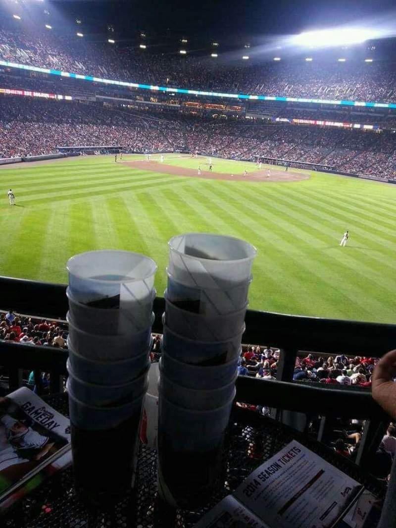 Turner Field, section: Chop House, row: n/a, seat: n/a
