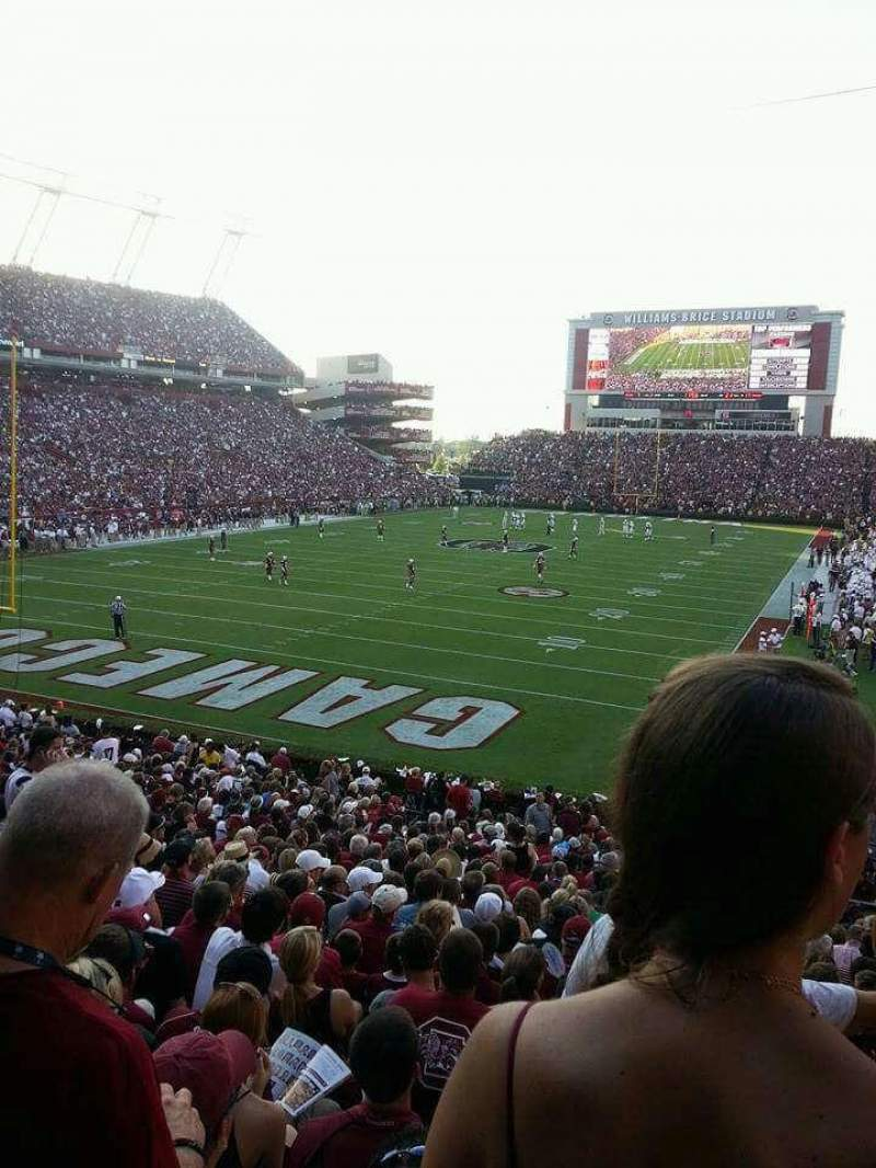 Seating view for Williams-Brice Stadium Section 14 Row 28 Seat 20