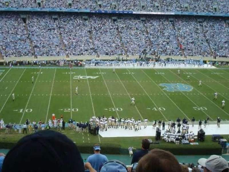 Seating view for Kenan Memorial Stadium Section 204 Row P Seat 28