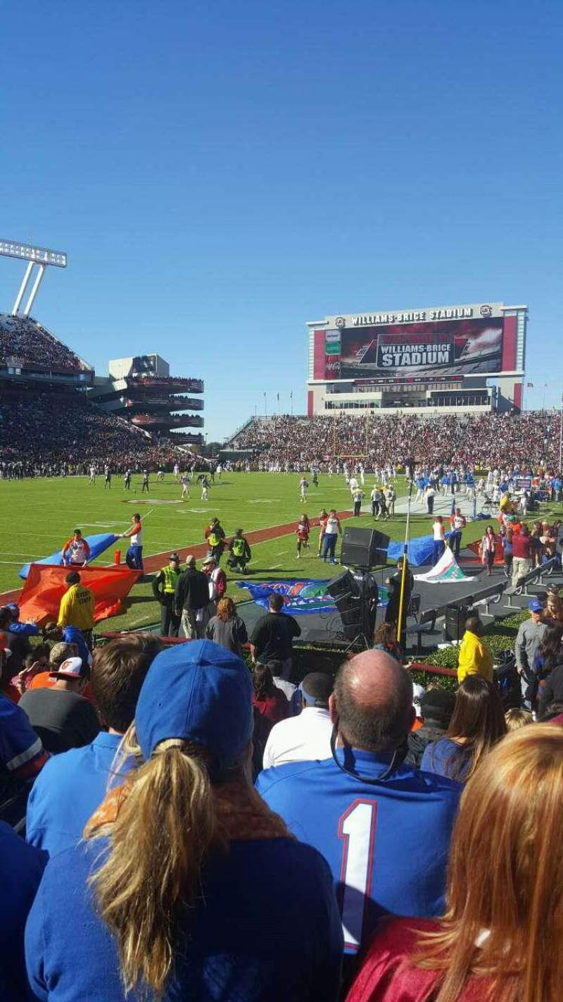 Seating view for Williams-Brice Stadium Section 15 Row 9 Seat 11
