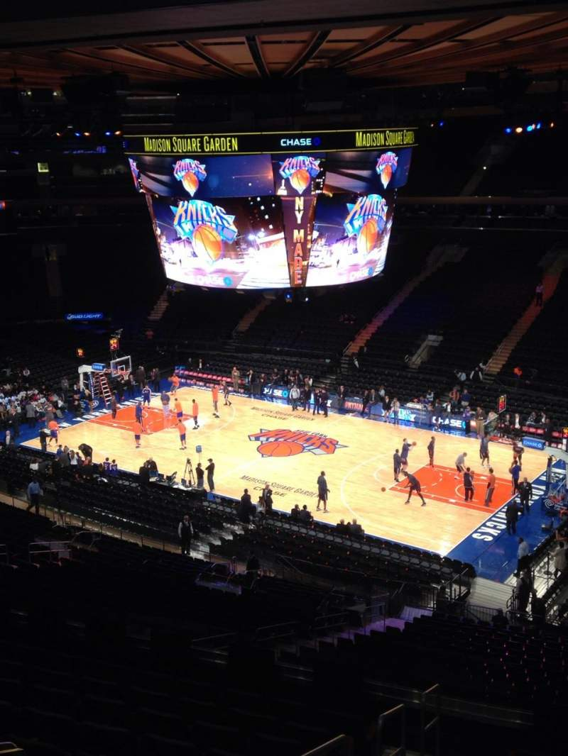 Seating view for Madison Square Garden Section 227 Row 11 Seat 10