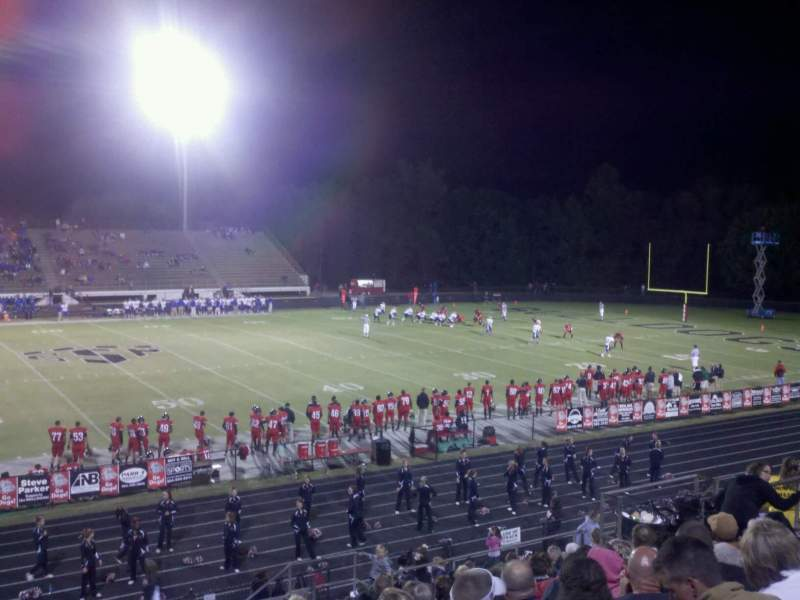 Seating view for Boiling Springs High School