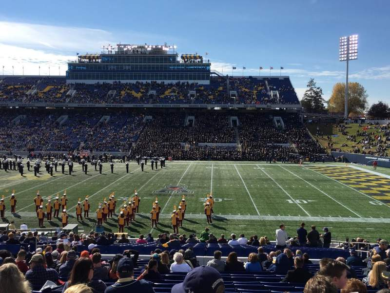 Seating view for Navy-Marine Corps Memorial Stadium Section 26 Row 20 Seat 1