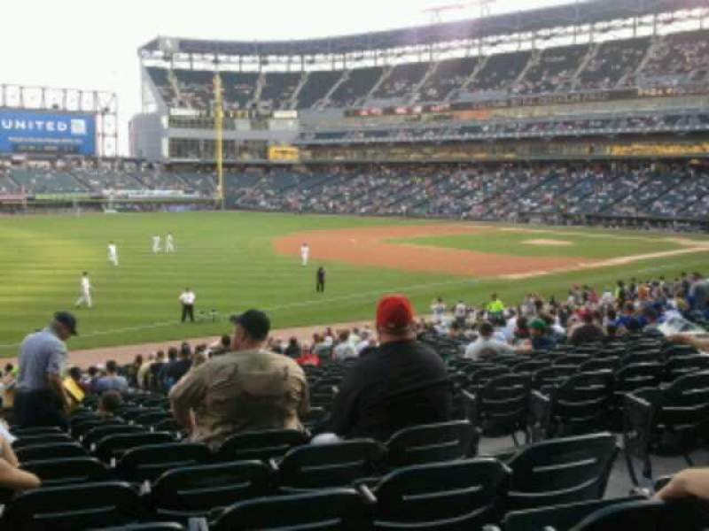 Seating view for Guaranteed Rate Field Section 149 Row  29 Seat 4
