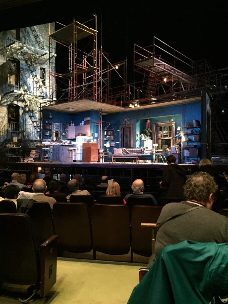 Seating view for Goodman Theatre - Albert Theatre Section Aisle 1 Row J Seat 9