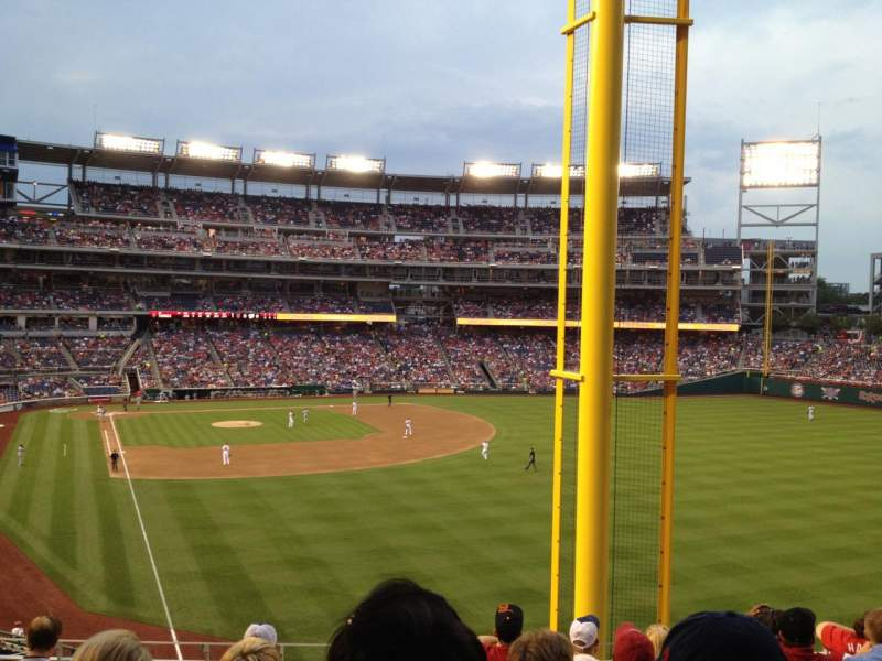 Seating view for Nationals Park Section 235 Row G Seat 11