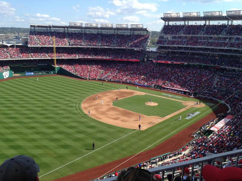 Seating view for Nationals Park Section 303 Row K Seat 8