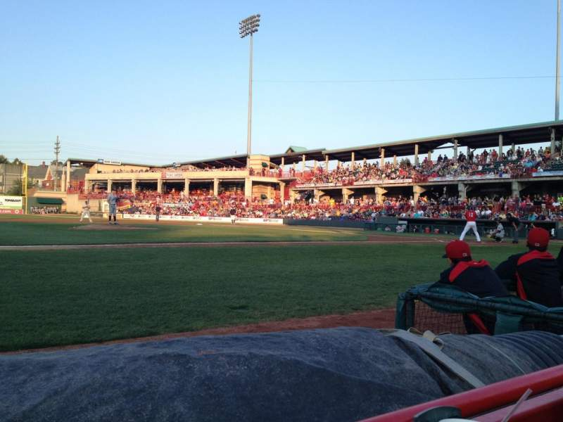 Seating view for UPMC Park Section 113 Row A Seat 4