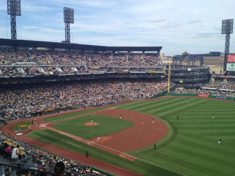 Seating view for PNC Park Section 305 Row H Seat 3