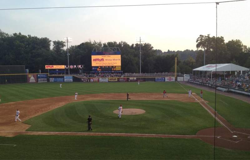 FNB Field, section: 201, row: A, seat: 17