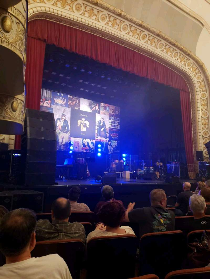 Seating view for Palace Theatre (Greensburg) Section ORCH Row F Seat 8