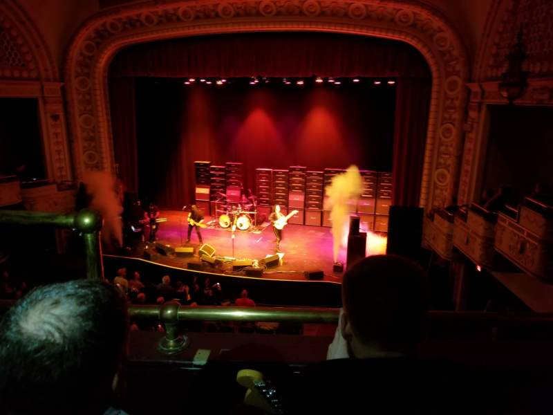 Seating view for Palace Theatre (Greensburg) Section LOGE Right Row BB Seat 8