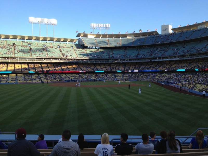 Seating view for Dodger Stadium Section 303PL Row K Seat 11