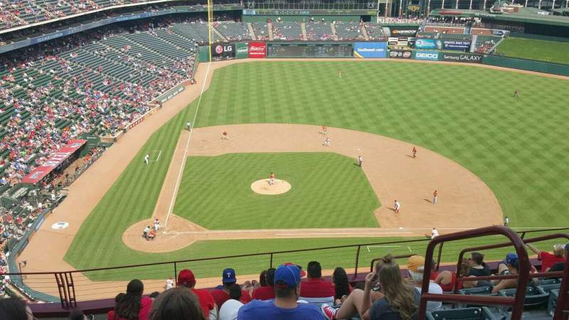 Seating view for Globe Life Park in Arlington Section 331 Row 11 Seat 15
