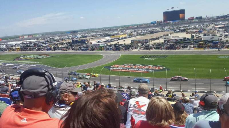 Seating view for Texas Motor Speedway Section 113 Row 42 Seat 15
