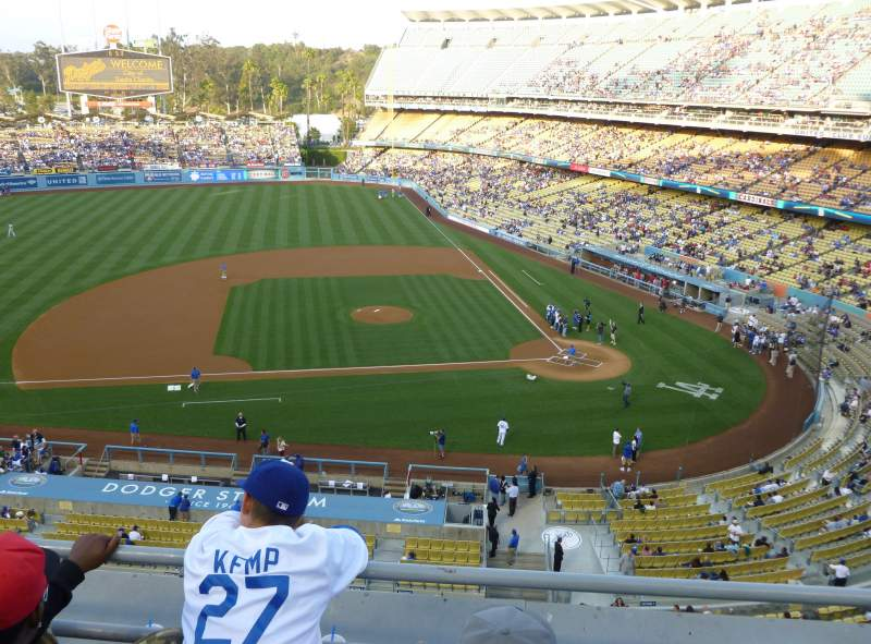 Seating view for Dodger Stadium Section 15RS Row C Seat 7