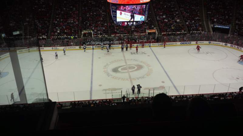 Seating view for PNC Arena Section 324 Row C Seat 24