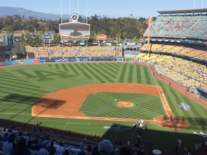 Seating view for Dodger Stadium Section 11RS Row O Seat 8