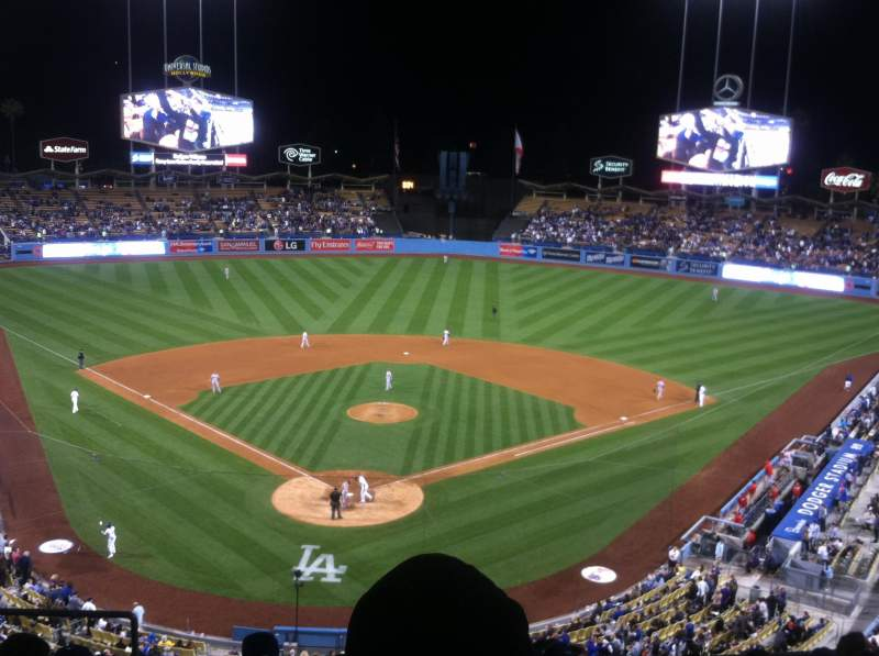 Seating view for Dodger Stadium Section 2rs Row H Seat 4