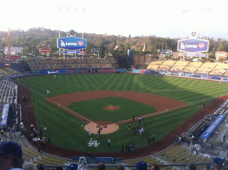 Seating view for Dodger Stadium Section 2rs Row G Seat 7