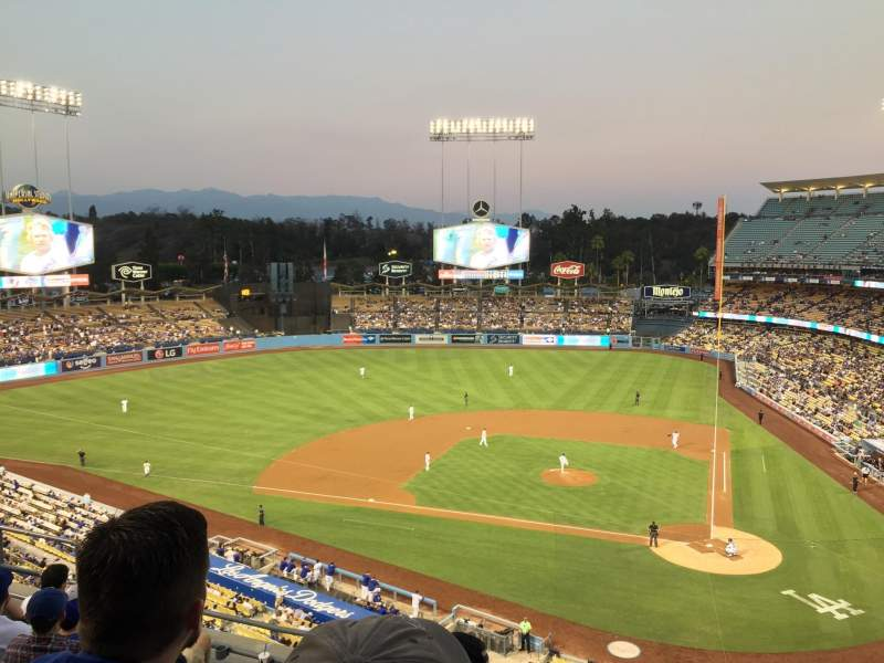 Seating view for Dodger Stadium Section 9RS Row G Seat 9