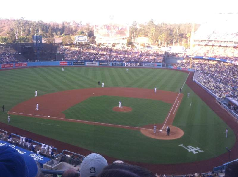 Seating view for Dodger Stadium Section 7rs Row D Seat 15