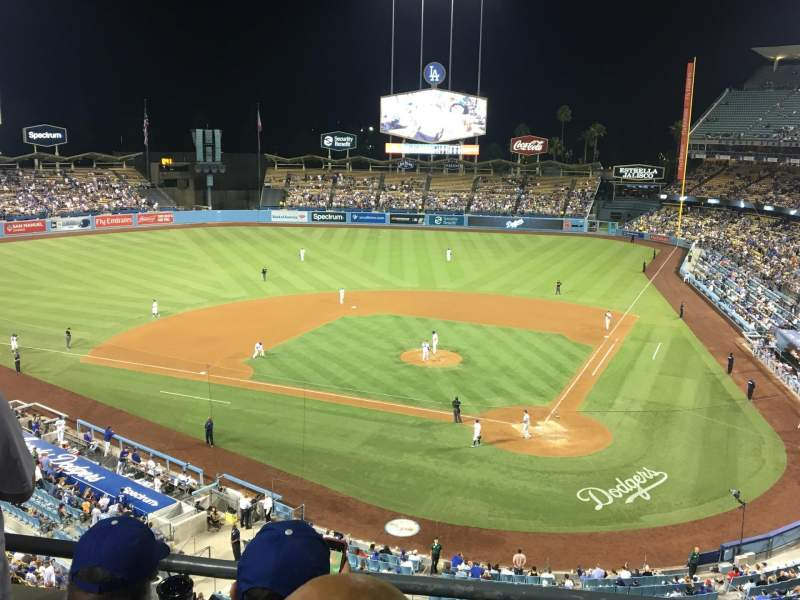 Dodger Stadium, section: 7RS, row: C, seat: 6