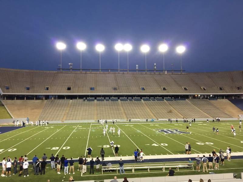 Seating view for Rice Stadium Section 104 Row 41 Seat 7