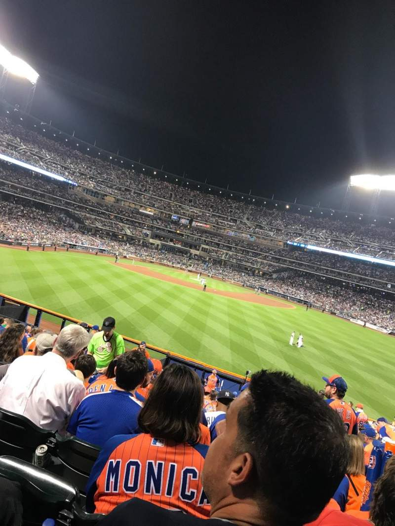 Seating view for Citi Field Section 141 Row 22