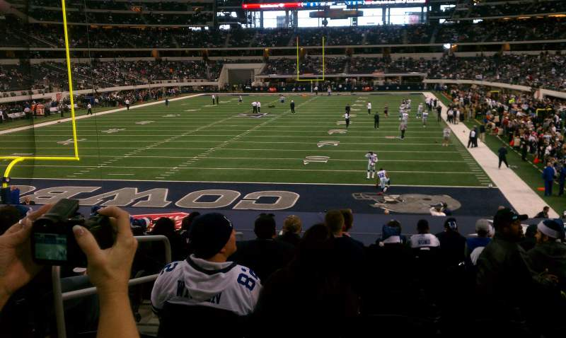 Seating view for AT&T Stadium Section 121 Row 21 Seat 28