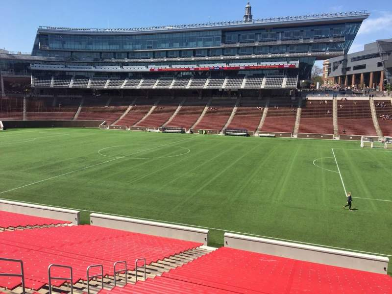Seating view for Nippert Stadium Section 103 Row 32 Seat 11