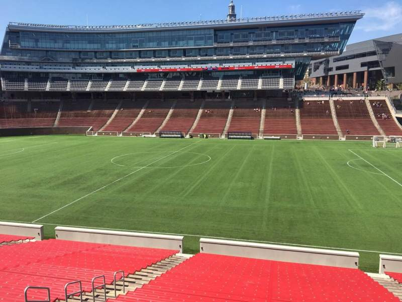 Seating view for Nippert Stadium Section 104 Row 32 Seat 11