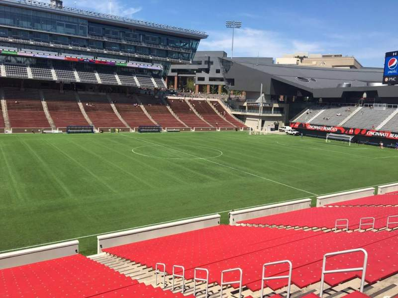 Seating view for Nippert Stadium Section 109 Row 32 Seat 11