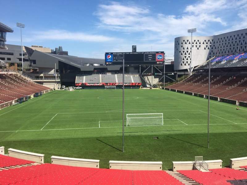 Seating view for Nippert Stadium Section 115 Row 32 Seat 11