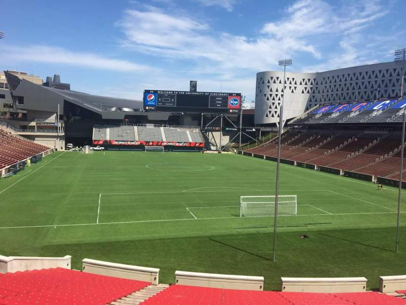 Seating view for Nippert Stadium Section 115 Row 32 Seat 35