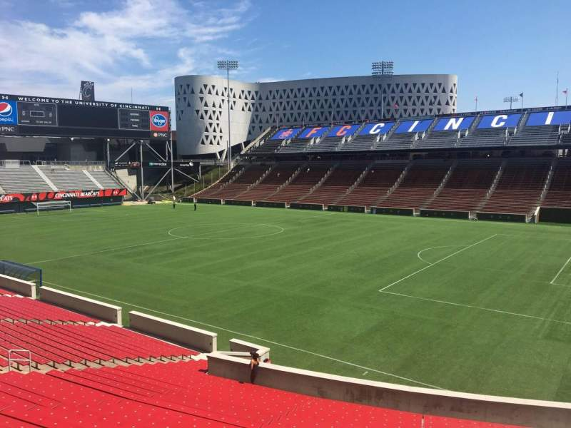 Seating view for Nippert Stadium Section 118 Row 32 Seat 12