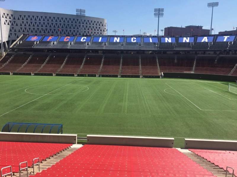 Seating view for Nippert Stadium Section 120 Row 32 Seat 11