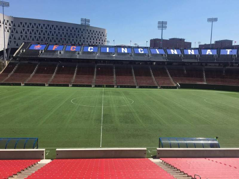 Seating view for Nippert Stadium Section 122 Row 32 Seat 11